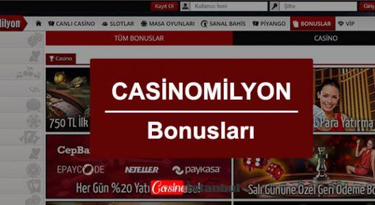 Casino Milyon Bonus