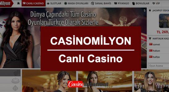Casino Milyon Canlı Casino