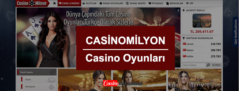Casino Milyon Casino Oyunları