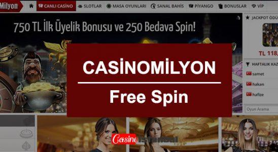Casino Milyon Free Spin