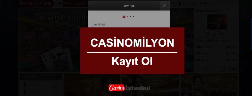Casino Milyon Kayıt