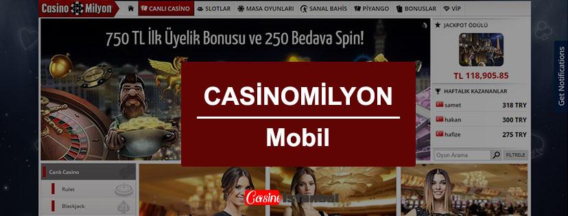 Casino Milyon Mobil