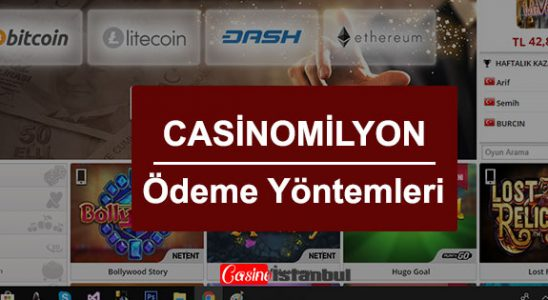 Casino Milyon Ödeme Yöntemleri