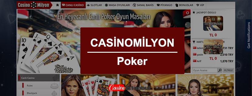 Casinomilyon Poker